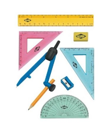 8-Piece Multi-Purpose Compass and Geometry Set FL04