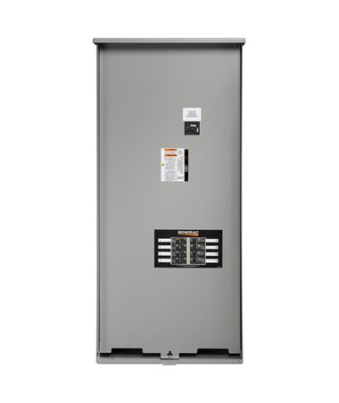 Generac 200 Amp Automatic Transfer Switch w/ 8-Circuit Load Center GENRXSW200A3F
