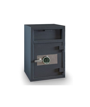 Hollon 30 x 20 B-Rated Depository Safe with One Shelf HOLFD-3020E-BIO - Biometric Lock