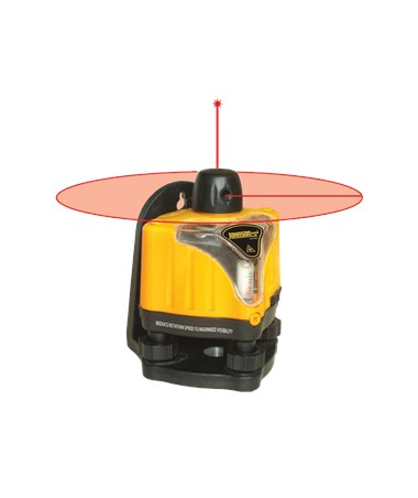 Johnson Level Manual Leveling Rotary Laser Level 40-0918