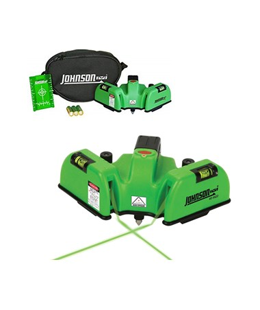 Johnson Level Green Beam Floor Line Laser JOH-40-6622