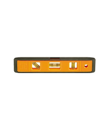 "Johnson 9"" Orange Structo-Cast Torpedo Level - 3 Vial JOH7500B-ORANGE-"