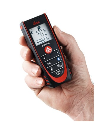 Leica Disto D2 with Bluetooth Laser Distance Meter LEI838725