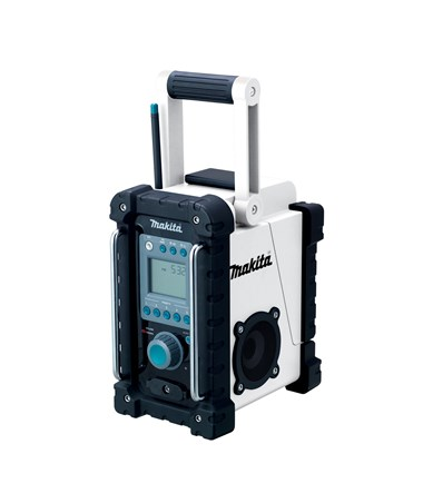 Makita BMR100W 18V LXT Lithium-Ion Cordless FM/AM Job Site Radio (Tool Only) MAK