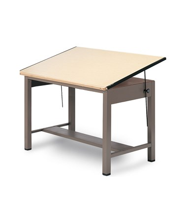 Mayline Ranger Steel 4-Post Drafting Table 7732