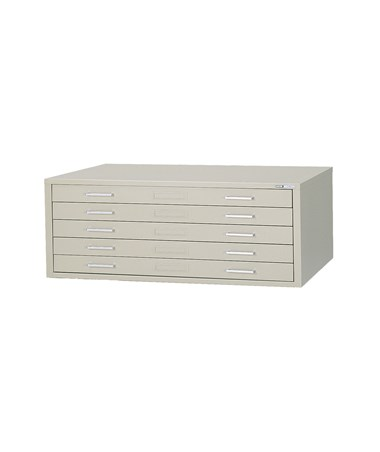 Mayline C-File 5-Drawer Steel Flat File MAY7867C-