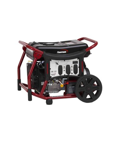 Powermate Wx 6500W Portable Generator Electric Start PM0146500