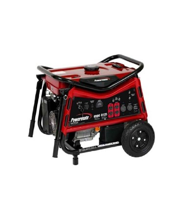 Powermate Wx 6500W Portable Generator V-Frame Electric Start PM0106507