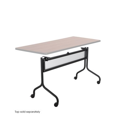 "Safco Impromptu Table Base - 49.25""W Black"