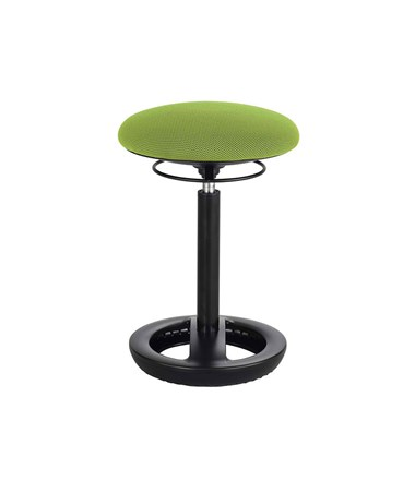 Safco Twixt Active Seating Chair, Desk-Height, Green 3000GN