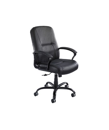 Safco Serenity Highback Leather Executive Office Chair 3500BL