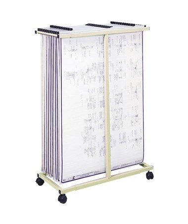 Safco Mobile Vertical Steel File SAF5059