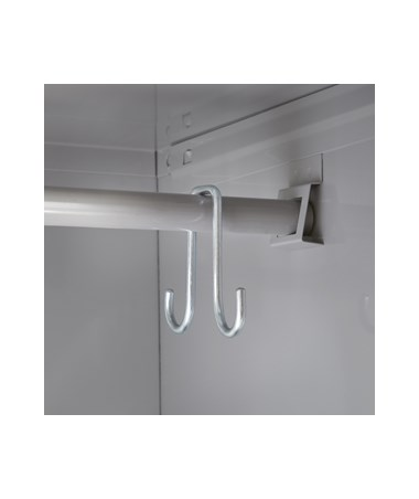 Single-Tier Locker's hooks