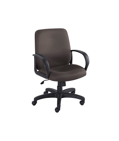Safco Poise Mid Back Executive Office Chair 6301BL