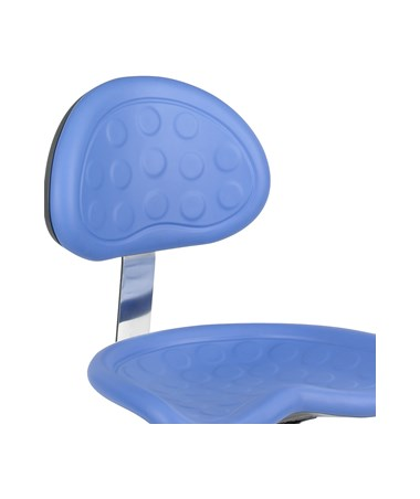 Safco SitStar Stool Backrest, Blue SAF6661BU