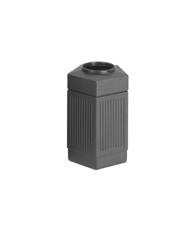 Safco Canmeleon Indoor/Outdoor Waste Receptacle SAF9485BL-