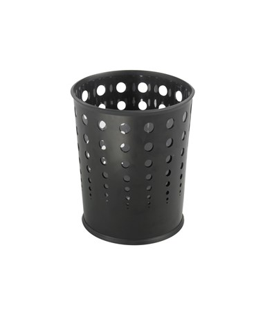 Safco Bubble Wastebasket (Qty. 3) SAF9740BL-