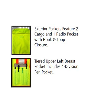 Exterior pocket configuration