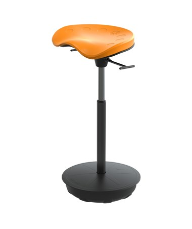 Safco Pivot Seat by Focal Upright Citrus FWS-1000-CT