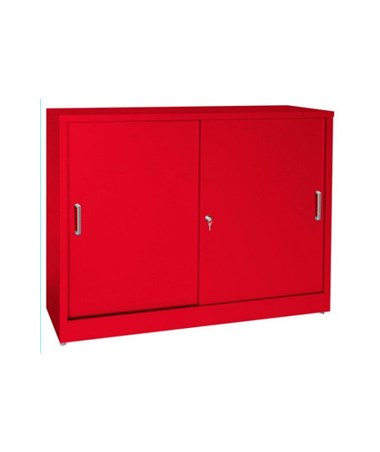 Sandusky Lee Elite Series Sliding Door Storage Cabinet SANBA1S361829-01