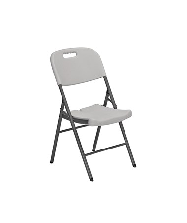 Sandusky Lee Folding Plastic Chairs (Pack of 4) SANFPC182035