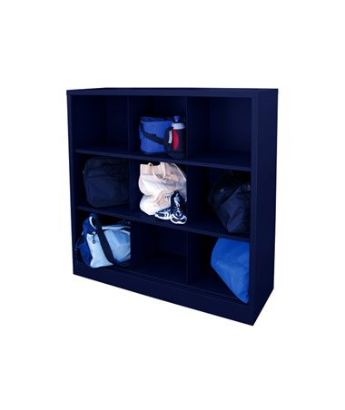 9 Compartments - Navy Blue
