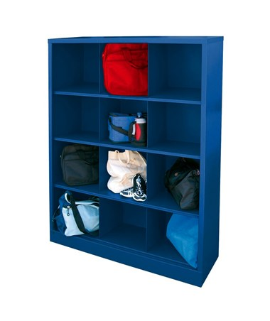 12 Compartments - Blue