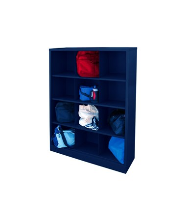 12 Compartments - Navy Blue