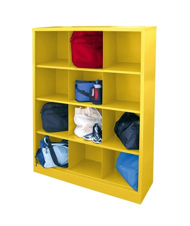 12 Compartments - Yellow
