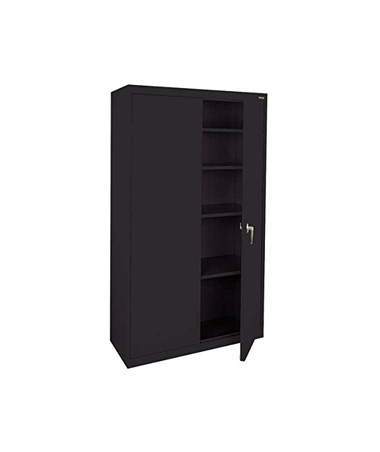 4 Shelves - Black