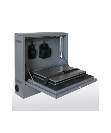 Sandusky Lee Wall Mount Laptop Security Cabinet Tiger Supplies
