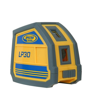 Spectra LP30 3-Point Laser Level