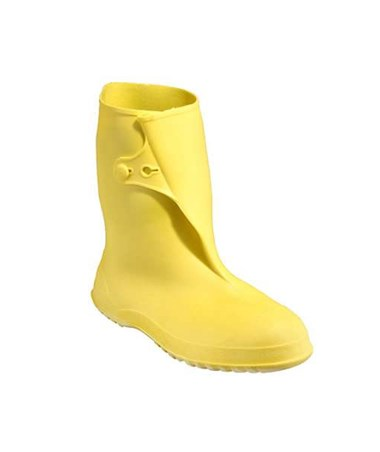 Tingley 10 Inch PVC Overshoes Yellow 35123