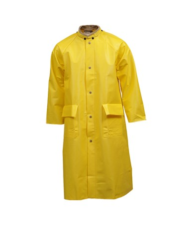48 Inches Yellow Coat with Hood Snaps C31207