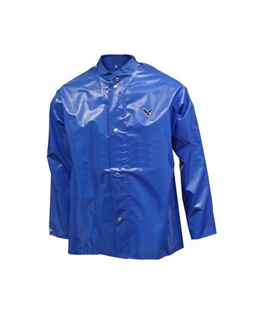 OXFORD - Blue Jacket - Storm Fly Front - Hood Snaps TINJ22201