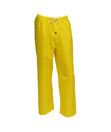 Breathable Yellow Pants with Fly Front TINP21107