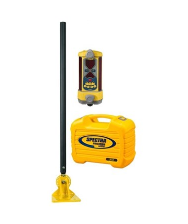 Spectra LR50 Non-Wireless Laser Receiver with DM-20 Dozer Mount & NiMH Batteries SPELR50-DM