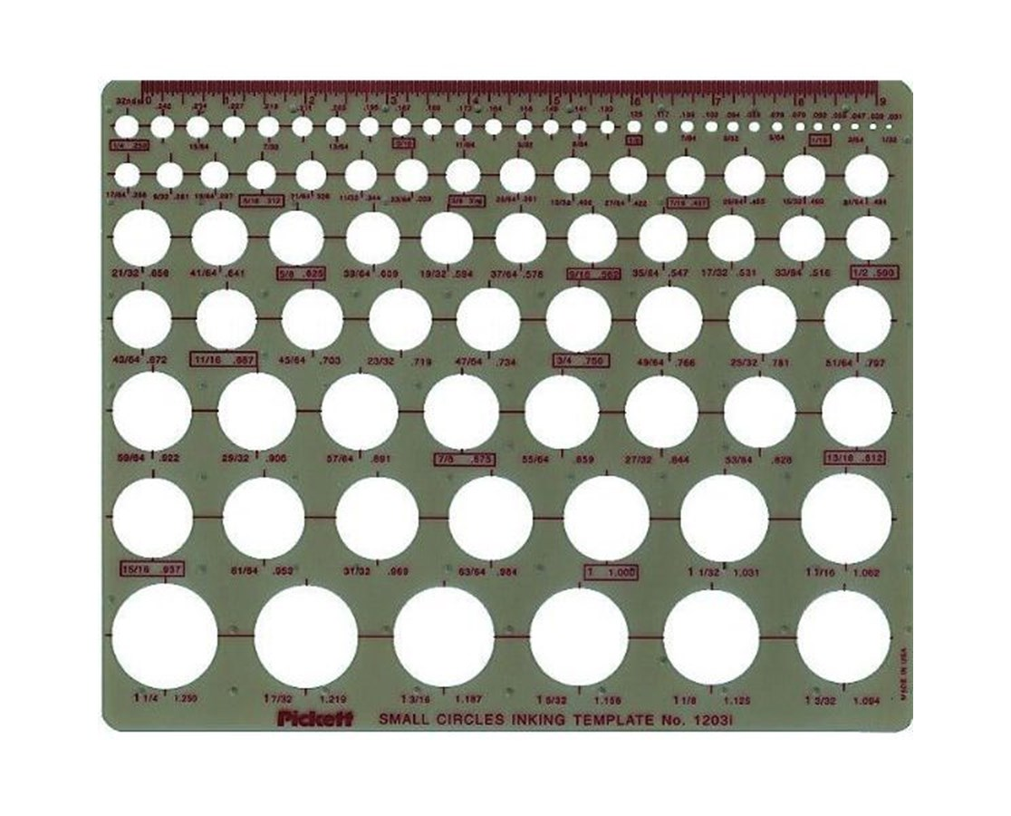 pickett small circles template tiger supplies