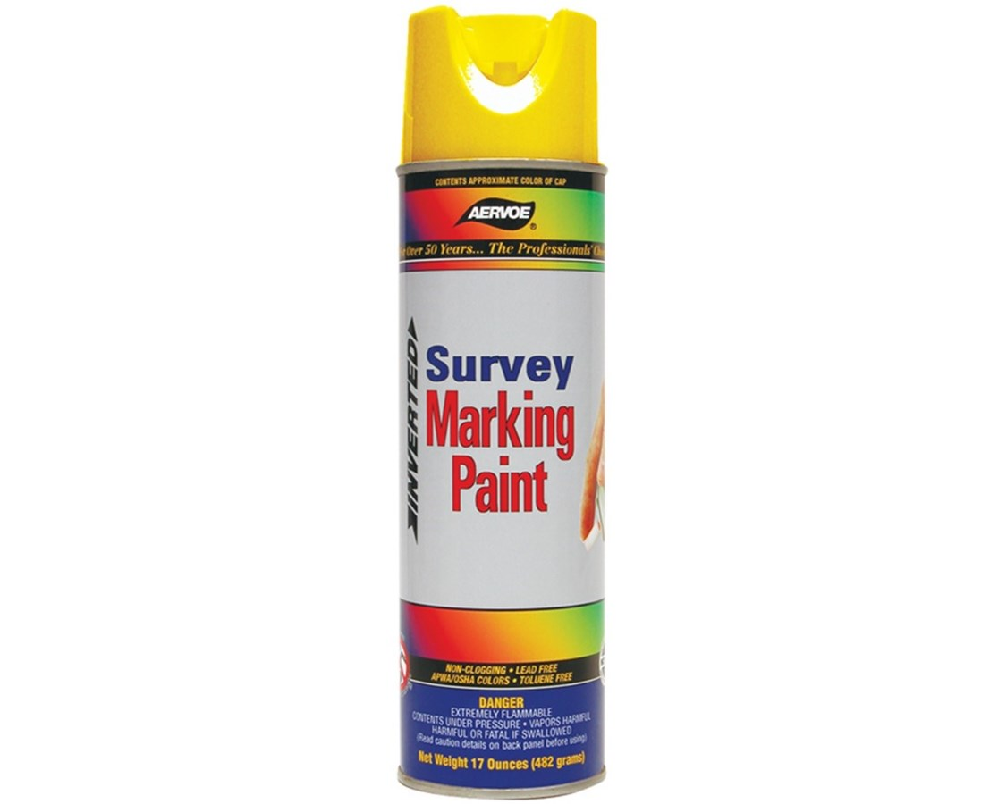 Aervoe Inverted Survey Marking Paint (Case of 12 Cans)