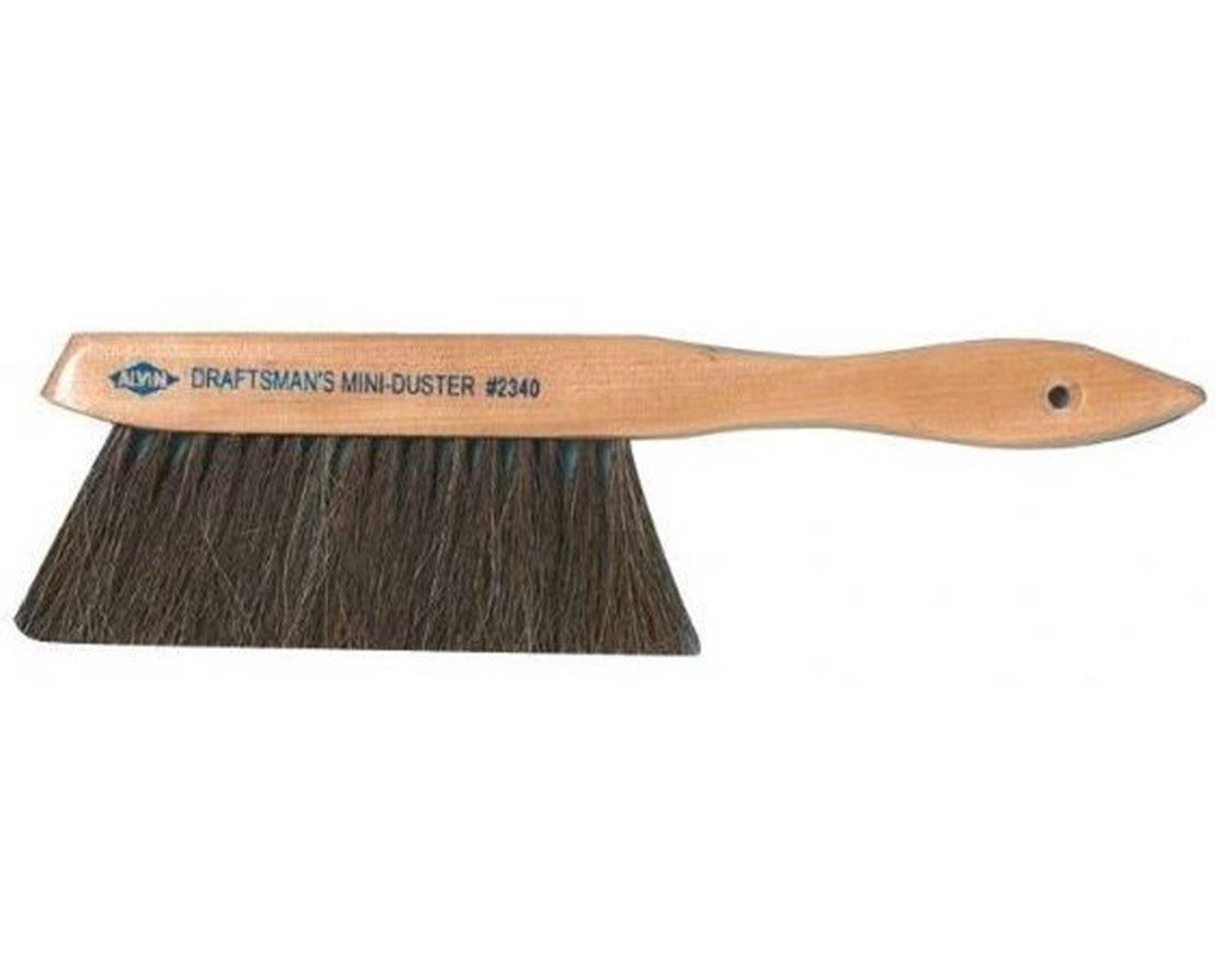 Alvin Comfort Curve Dusting Brush 2342