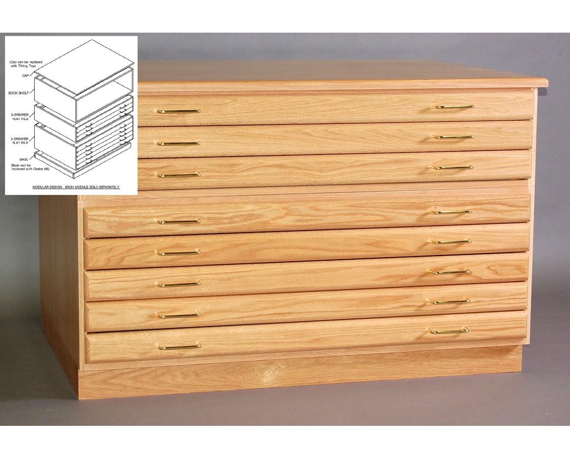 smi 5 drawer oak 24 x 36 plan file 2436-5d tiger supplies 24 inch file cabinet