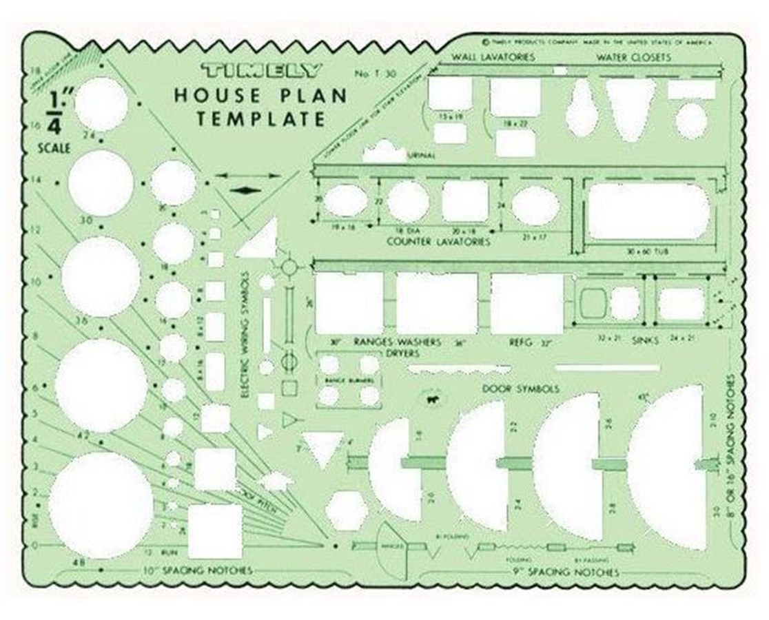 Timely House Plan Template 30T