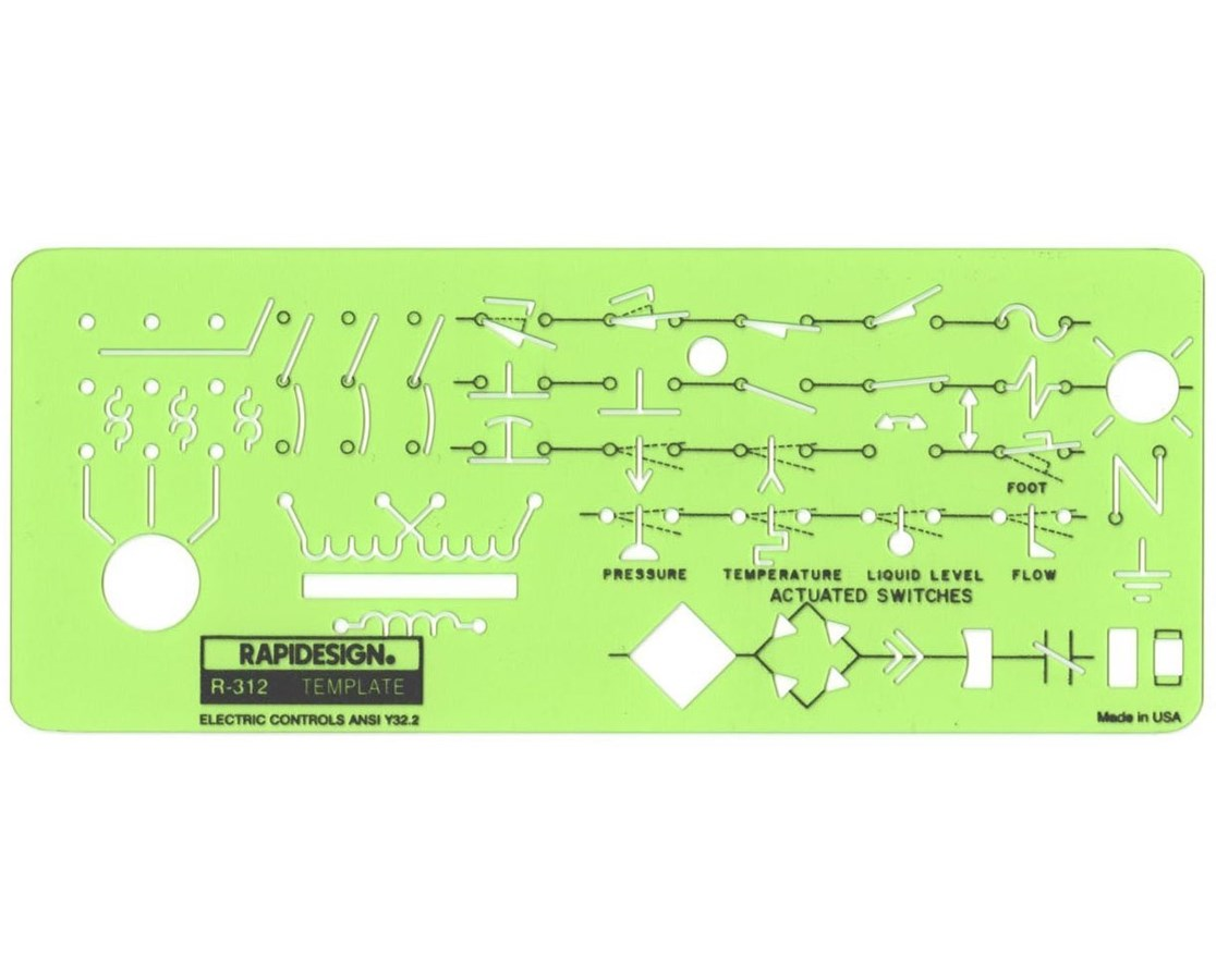 Rapidesign Electric Controls Template 312R