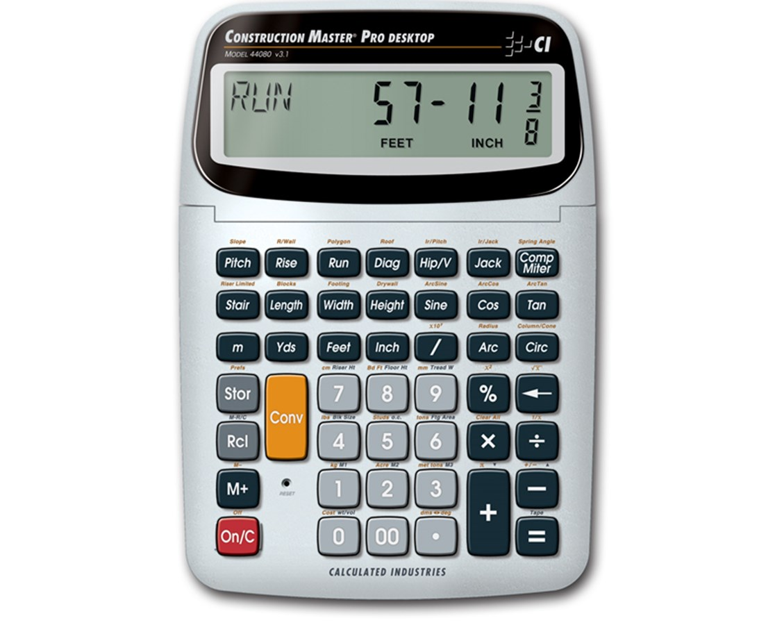 Calculated Industries Construction Master Pro DT Calculator