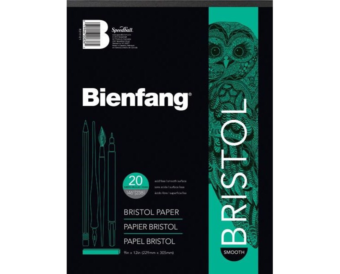 Alvin Bienfang Smooth Finish Bristol Board (Qty. 20 Sheets) 528P-1210