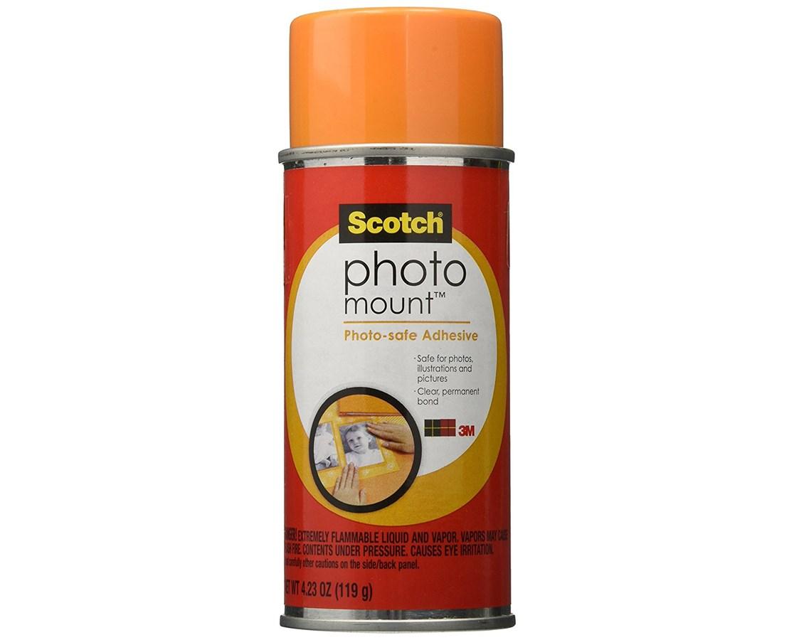 Scotch Photo Mount Spray Adhesive Tiger Supplies