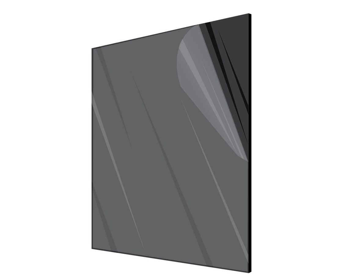 2 Pieces Acrylicblank Matte Black Acrylic Sheet with Customized Rounded Corners 1//4 Thick Matte Black, 12 x 12 Click for More Sizes