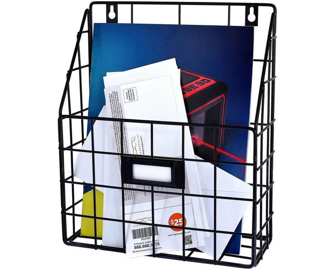 AdirHome Wire Mail Basket ADI304-01-
