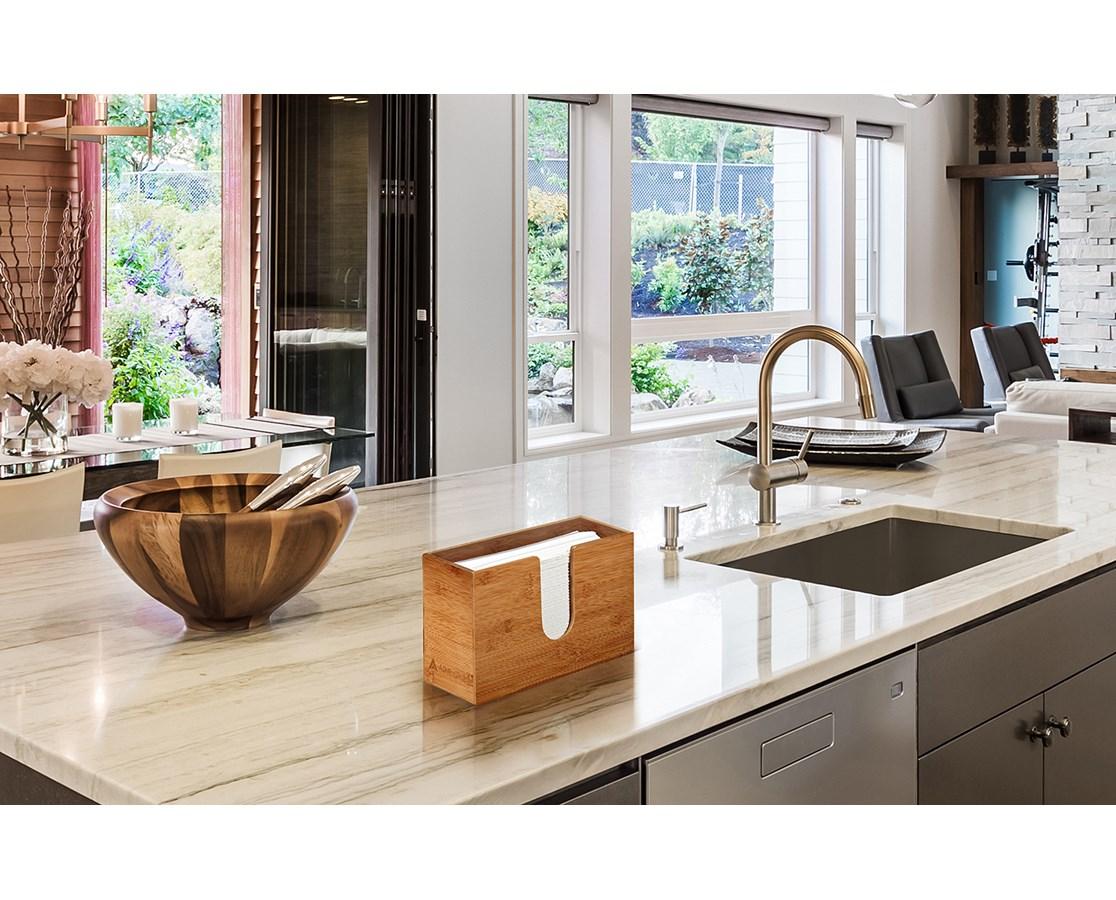 AdirHome-Bamboo-Paper-Towel-Dispenser-Paper-Towel-150-Multifold-Paper-Holder thumbnail 27