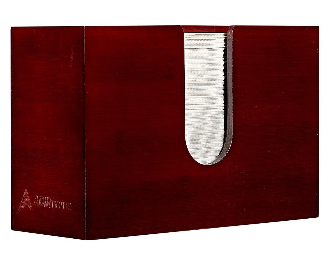 AdirHome-Bamboo-Paper-Towel-Dispenser-Paper-Towel-150-Multifold-Paper-Holder thumbnail 14